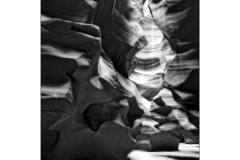 ANTELOPE CANYON BLACK AND WHITE